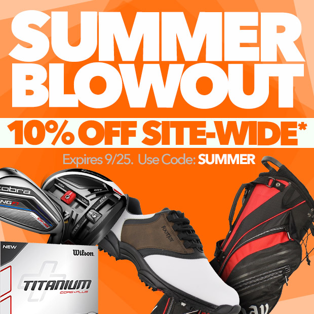 Summer Blowout - 10% Off Site-Wide