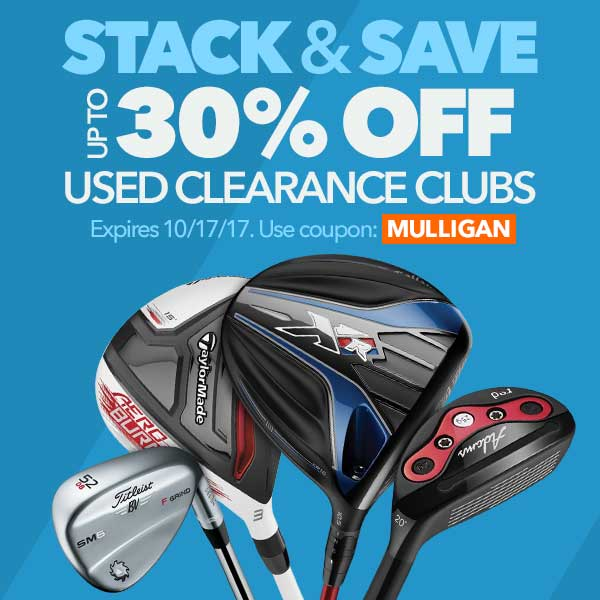 Stack & Save: Up To 30% Off Used Clearance Clubs