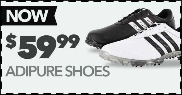 adidas adiPure Shoes Now $63.99