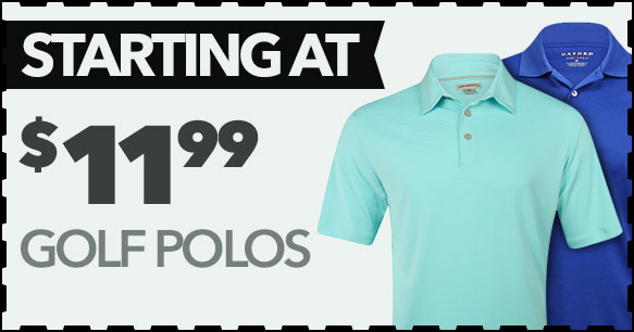 Polos Starting At $11.99