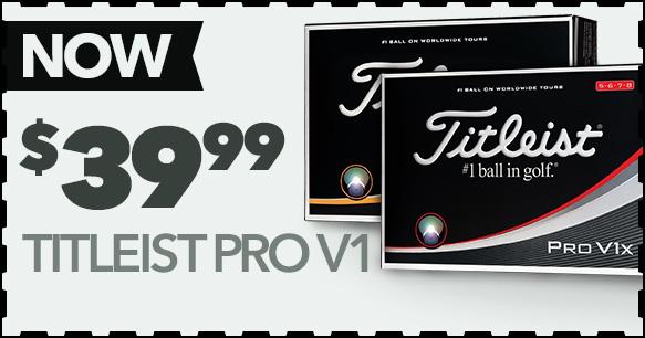 Titleist Pro V1 - $39.99