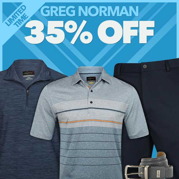 35% Off Greg Norman - Limited Time