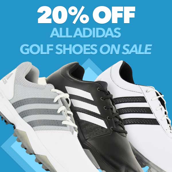 20% Off All adidas Golf Shoes on Sale
