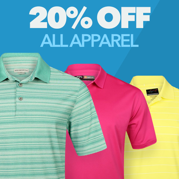 20% Off All Apparel