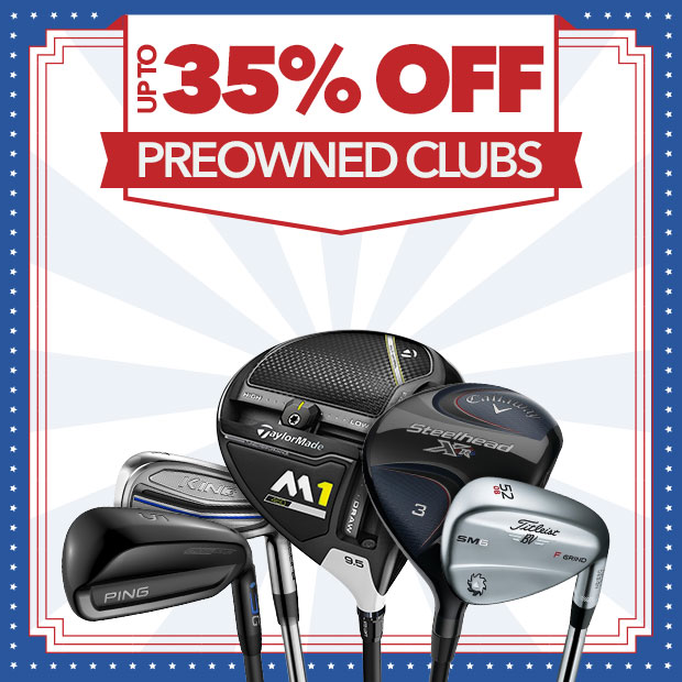 PreOwned Clubs - Up to 35% Off
