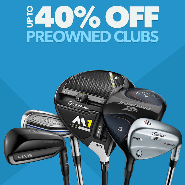 PreOwned Clubs up to 40% Off