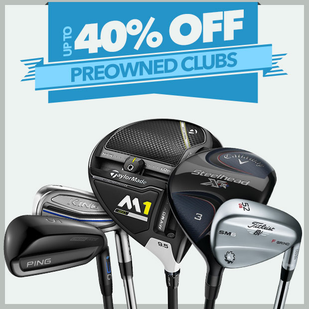 Up To 40% Off Preowned Clubs