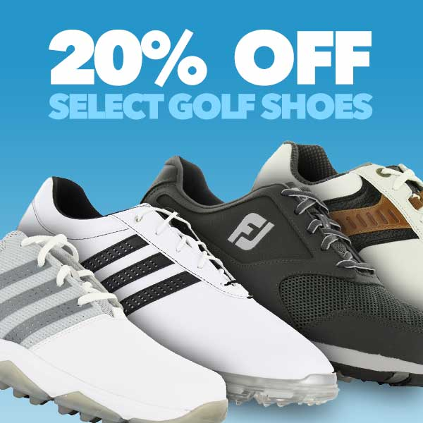 20% Off Select Golf Shoes