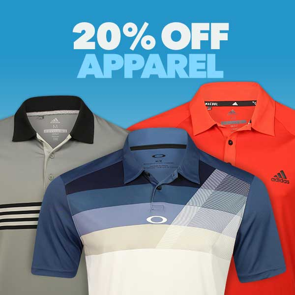 20% Off Apparel