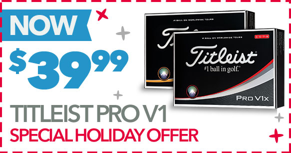 Special Holiday Offer | Titleist Pro V1 - $39.99