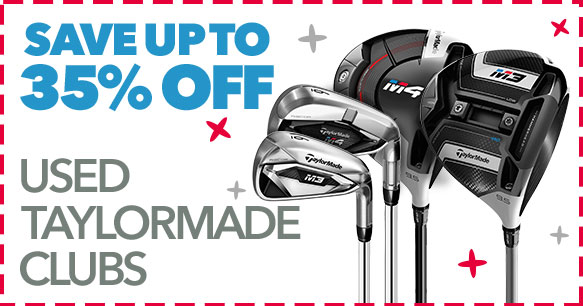 Up To 35% Off Used Taylormade Clubs