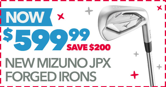Shop New Mizuno JPX Forged Irons | Save $200 - Now $599.99