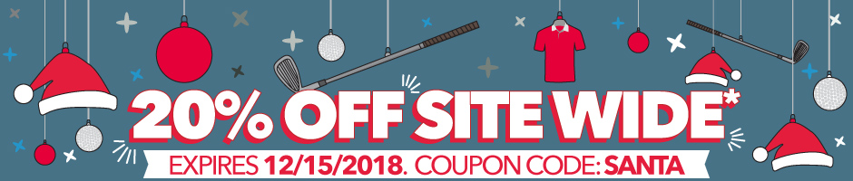20% Off Site Wide*- Expires 12/15/2018. Coupon code: Santa