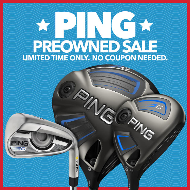 PING Preowned Sale
