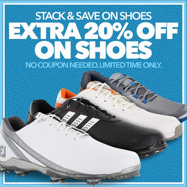 Extra 20% off Golf Shoes