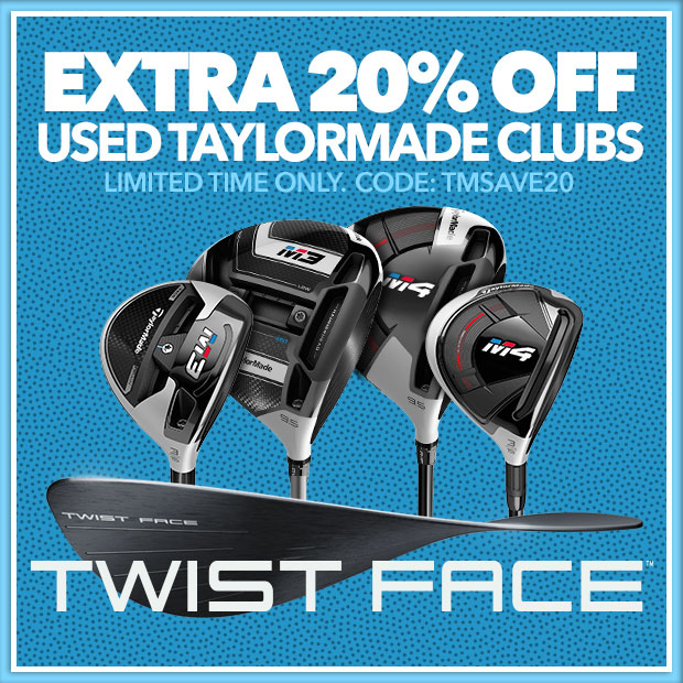 20% Off TaylorMade Preowned