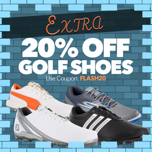 Extra 20% off Golf Shoes   Use Code: FLASH20