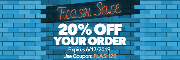 FLASH SALE - 20% Off your order with code: FLASH20