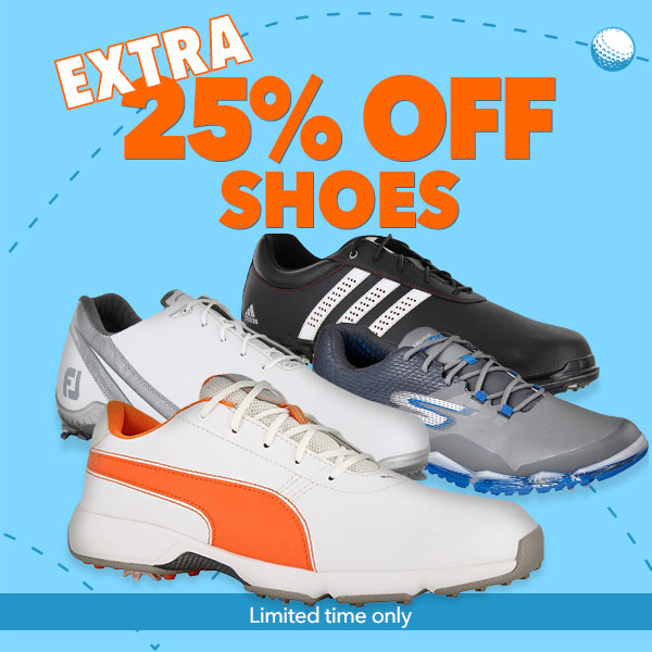 Get an Extra 25% off Golf Shoes