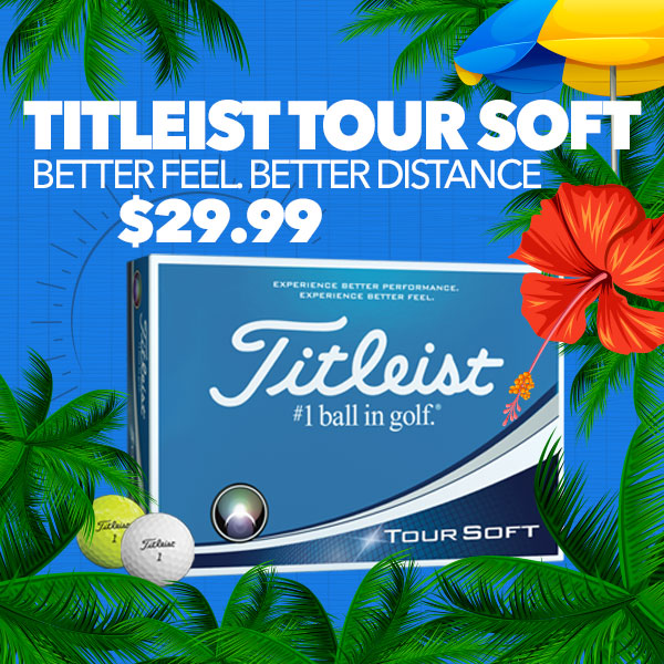 Titleist Tour Soft - $29.99