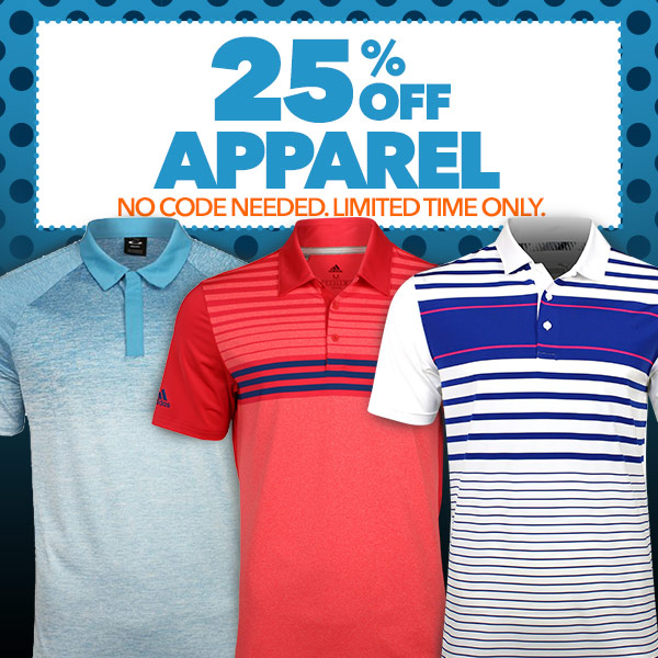 25% Off Apparel