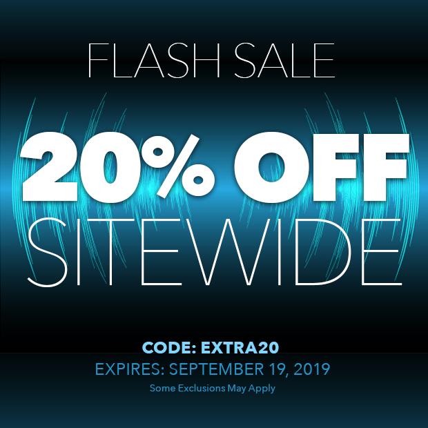 Flash Sale - 20% Off Sitewide with Code: extra20