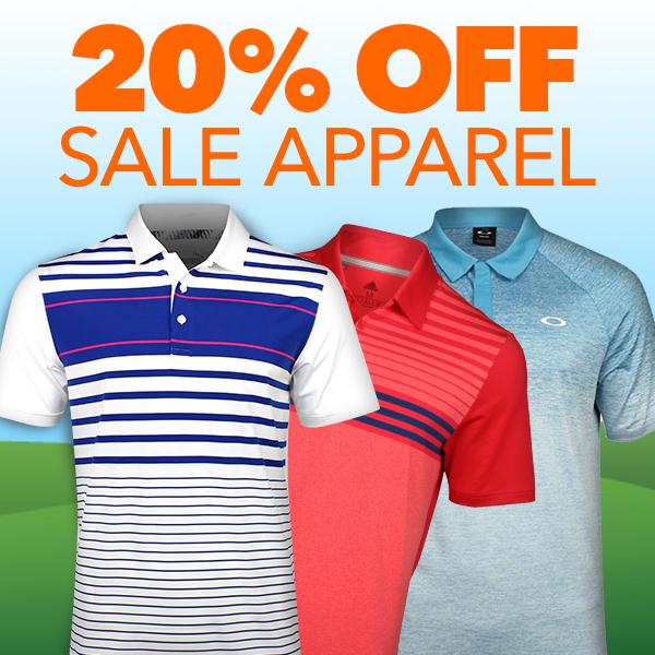 20% Off Apparel On Sale