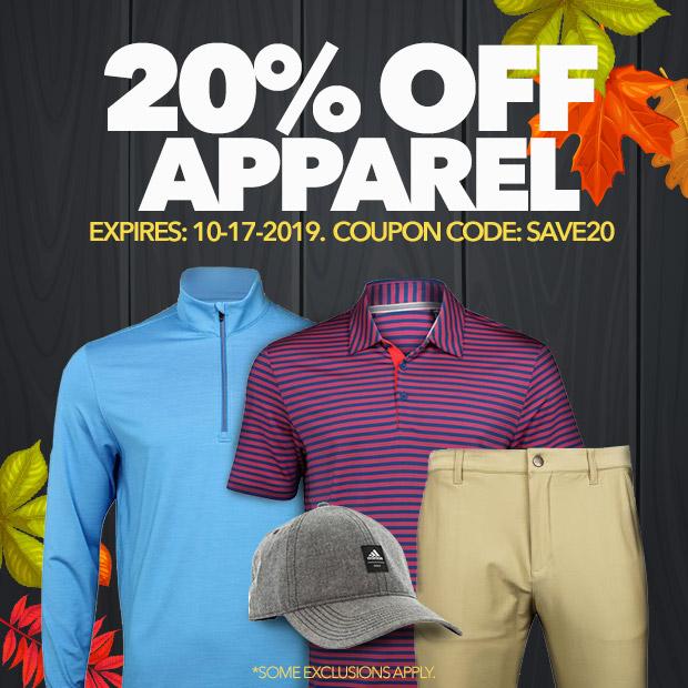 20% Off Sale Apparel