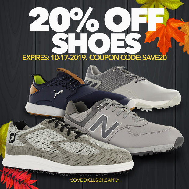 20% Off Golf Shoes