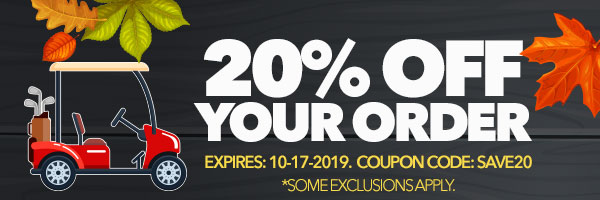 Get 20% Off Your Order with code: SAVE20. Expires October 17, 2019.