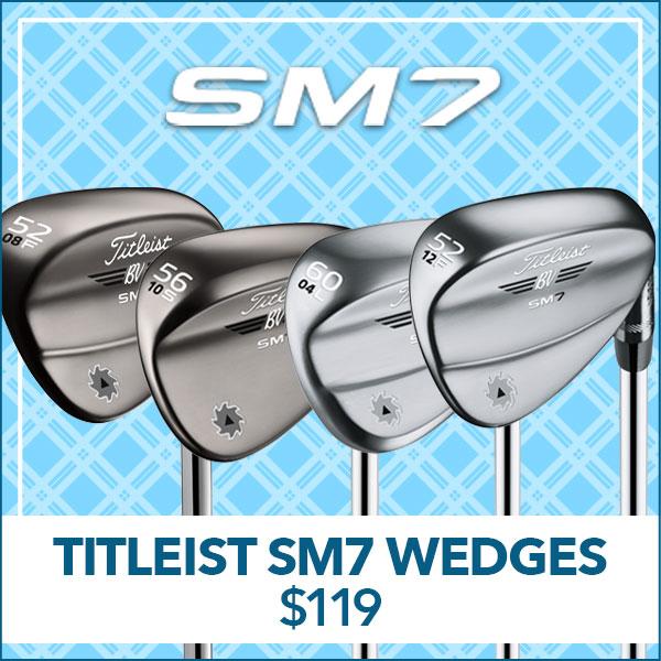 Titleist SM7 Wedges - $119