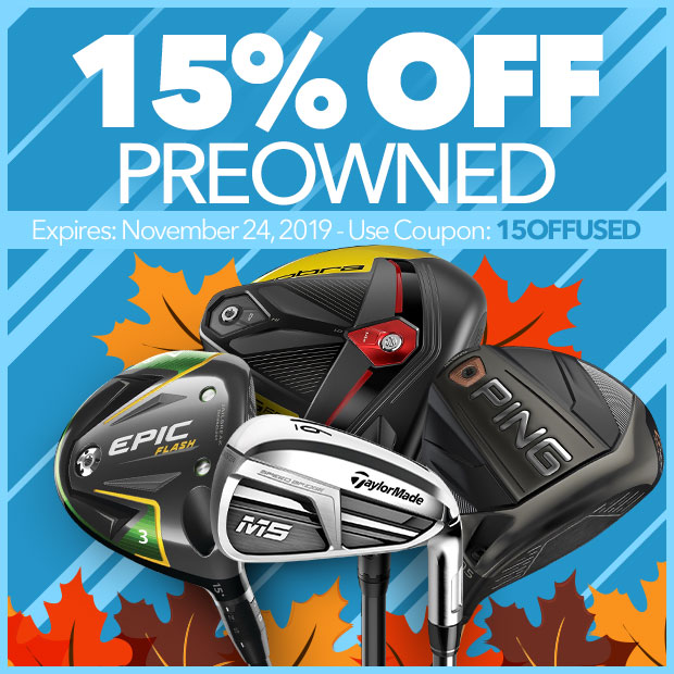 15% Off Preowned with code: 15OffUsed. Expires November 24, 2019.