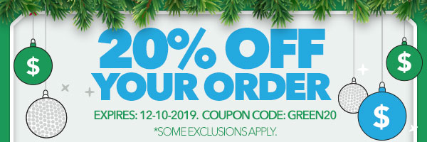 Save Some Green Sale - 20% Off Your Order with code: green20 Expires December 10, 2019
