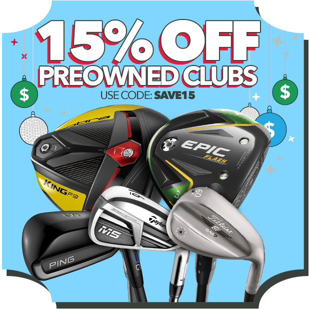 15% Off Preowned with code: Save15