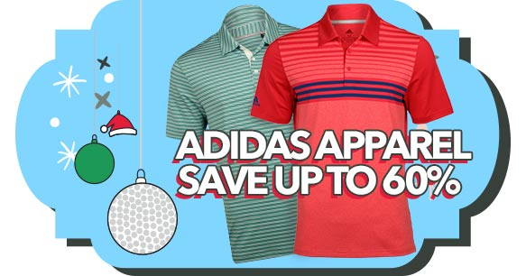 Save up to 60% on Adidas Apparel