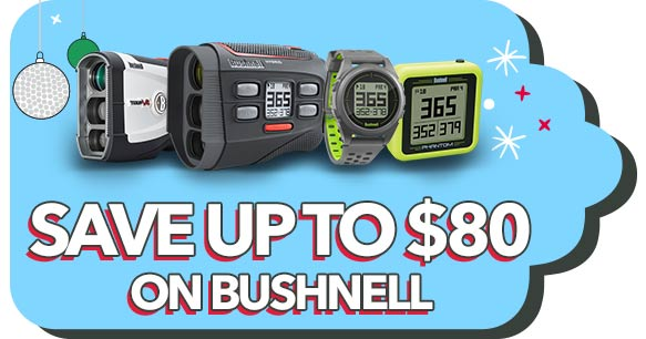 Save up to $80 on Bushnell