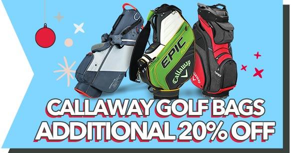 Callaway Golf Bags - Additional 20% off