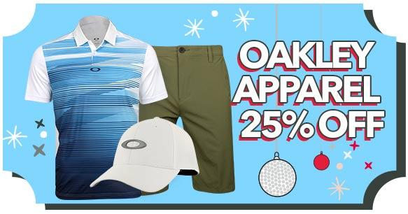 Oakley Apparel - 25% Off