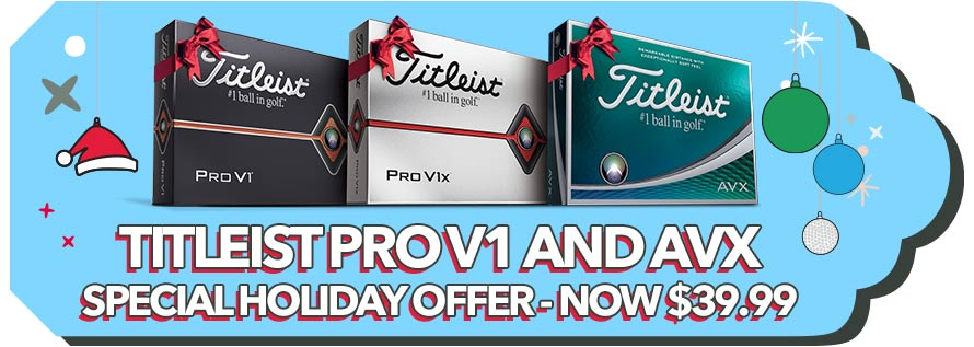 Titleist Pro V1 and AVX - Special Holiday Offer - Now $39.99