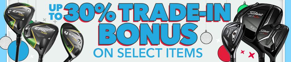 Up to 30% Off Trade-in Bonus