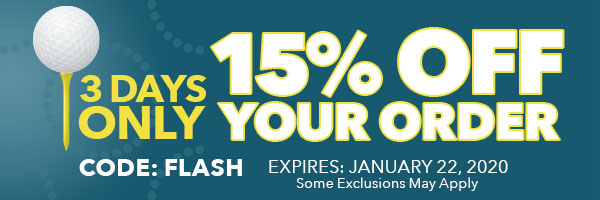 15% OFF Your Order with Code: Flash