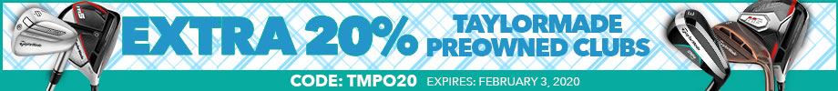 Extra 20% Off TaylorMade Preowned with Code: tmpo20
