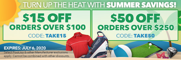 Summer Savings | Save $15 off orders over $100 with code TAKE15 - Save $50 off Orders Over $250 with code TAKE50