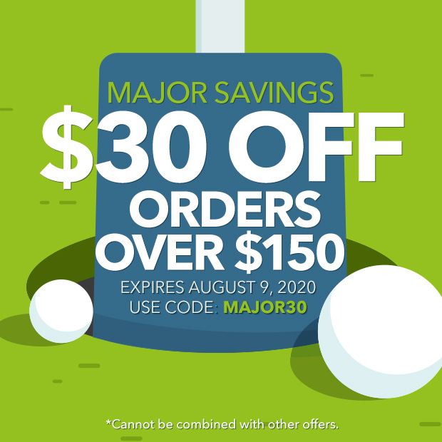 Major Savings | $30 off orders over $150 with code MAJOR30