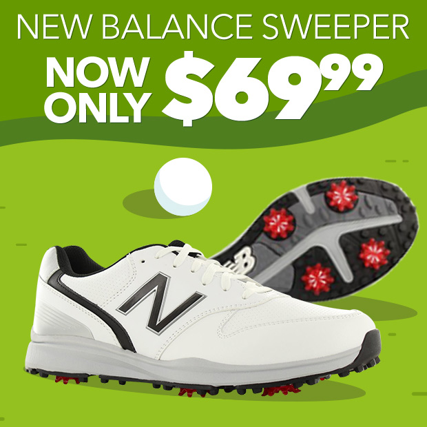 New Balance Sweeper Golf Shoes | Now Only $69.99