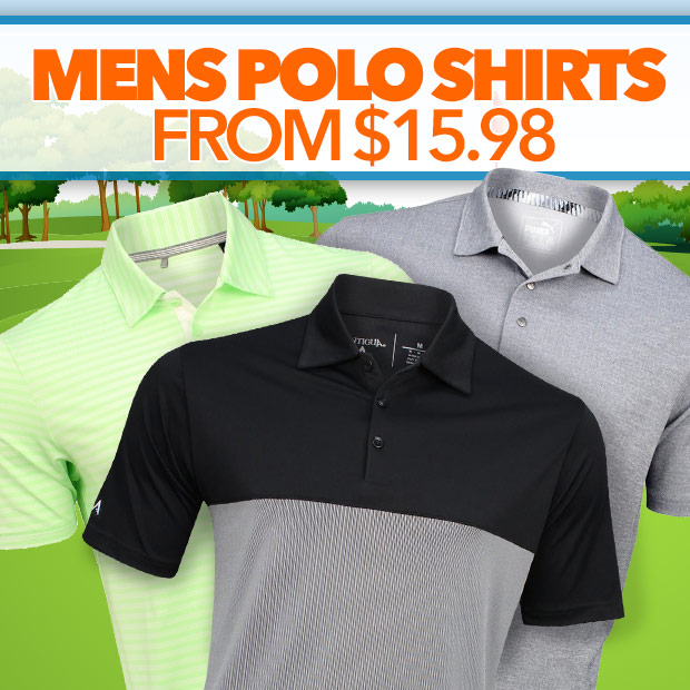 Mens Polo Shirts from $15.98