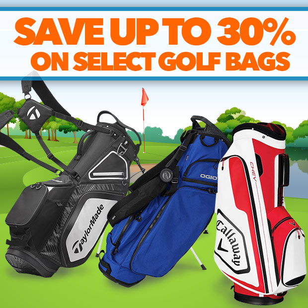 Save Up to 30% on Select Golf Bags