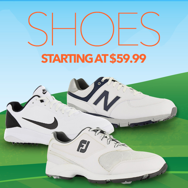 Footwear Starting at $59.99