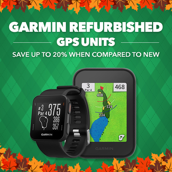 Garmin Refurbished GPS Units - Save up to 20% when compared to New