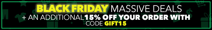 Black Friday Deals | Massive Deals + an additional 15% Off your order with code GIFT15